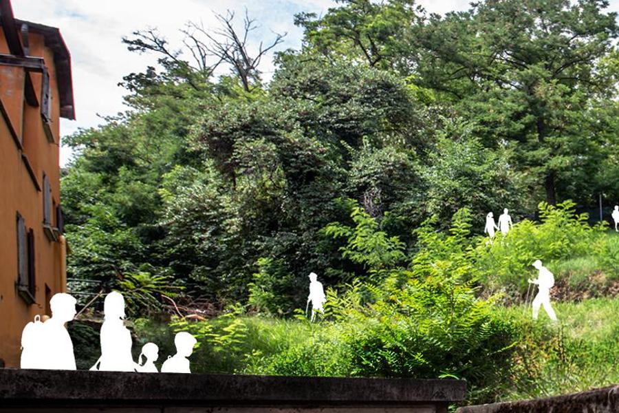 Il pennello Sayerlack traccia il percorso di rigenerazione urbana del Parco della Montagnola